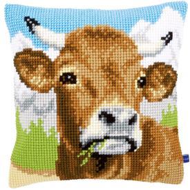 Cow - Vervaco Kruissteekkussen |  | Artikelnummer: vvc-148000