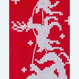 Sleigh loper - voorgedrukt borduurpakket - Vervaco |  | Artikelnummer: vvc-158448