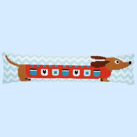 Cute Dog - Vervaco tochthond - kruissteekpakket |  | Artikelnummer: vvc-158069