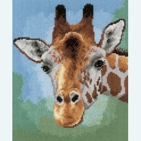 Giraffe - kruissteekpakket met telpatroon Vervaco  |  | Artikelnummer: vvc-149306