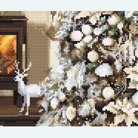 Dreaming of a White Christmas - borduurpakket met telpatroon Luca-S |  | Artikelnummer: luca-b2393