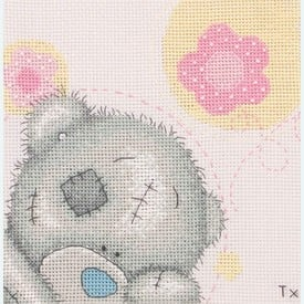 Pretty in Pink - Me to You - Tatty Teddy borduurpakket met telpatroon - Coats Crafts |  | Artikelnummer: cts-tt121