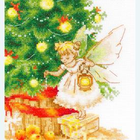 Christmas Tree - borduurpakket met telpatroon Luca-S |  | Artikelnummer: luca-b1117