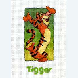 Tigger - Disney borduurpakket met telpatroon Vervaco  |  | Artikelnummer: vvc-19049