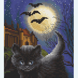 Did we Scare you?  - borduurpakket met telpatroon Letistitch |  | Artikelnummer: leti-964