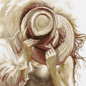 Hat to Hat - kruissteekpakket met telpatroon Luca-S |  | Artikelnummer: luca-b2295
