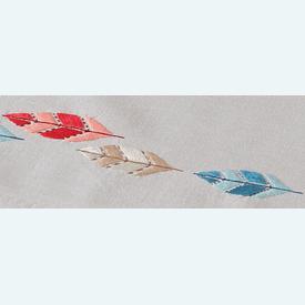 Feathers loper - voorgedrukt borduurpakket van Vervaco |  | Artikelnummer: vvc-161681