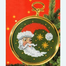 Santa - borduurpakket met telpatroon Vervaco |  | Artikelnummer: vvc-40903