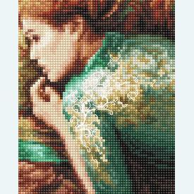 Into Dreamland - borduurpakket met telpatroon Letistitch |  | Artikelnummer: leti-959