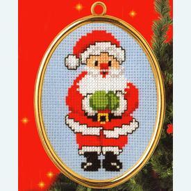 Santa - borduurpakket met telpatroon Vervaco |  | Artikelnummer: vvc-46936