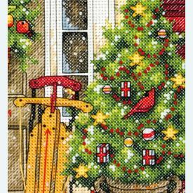 Home for the Holidays - borduurpakket met telpatroon Dimensions |  | Artikelnummer: dim-70-08961