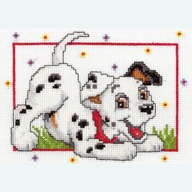 Dalmatian - Disney borduurpakket met telpatroon Vervaco |  | Artikelnummer: vvc-19048