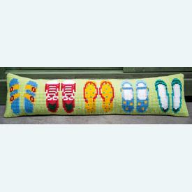 Summer Shoes - Vervaco tochthond - kruissteekpakket |  | Artikelnummer: vvc-188105