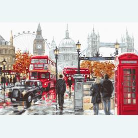 London - borduurpakket met telpatroon Luca-S |  | Artikelnummer: luca-b2376