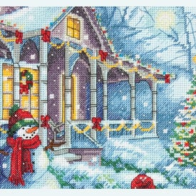 Christmas Tradition - borduurpakket met telpatroon Dimensions |  | Artikelnummer: dim-70-08960