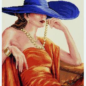 En Vogue - borduurpakket met telpatroon Vervaco |  | Artikelnummer: vvc-25816