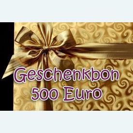 Geschenkbon 500 Euro |  | Artikelnummer: nra-24510-500