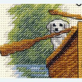 Together Dogs - borduurpakket met telpatroon Dimensions |  | Artikelnummer: dim-70-65208