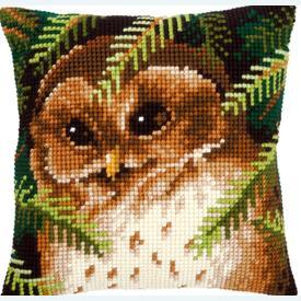 Owl - Vervaco Kruissteekkussen |  | Artikelnummer: vvc-145273