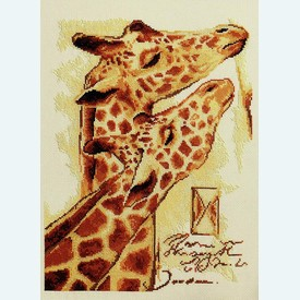 Couple by Joadoor - borduurpakket met telpatroon Vervaco - kaaslinnen |  | Artikelnummer: vvc-25101