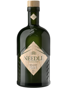 Needle Blackforest Distilled Dry Gin | 0,5 ltr. | Artikelnummer: 85NEM6