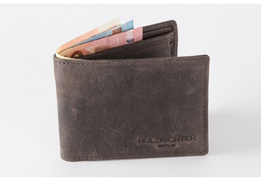 Wallet (M) Dark-Brown