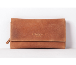Wallet No 4-3 | Camel-Brown | Artikelnummer: HR-WAL-4-3_c