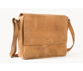 Messenger Bag No 3-1 (S) | Camel | Artikelnummer: HR-SA-3-1_c
