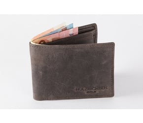 Wallet No 1-2 | Dark-Brown | Artikelnummer: HR-WAL-1-2_db