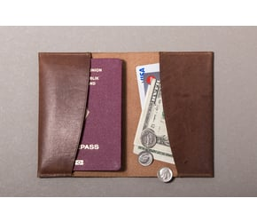 Passport Holder | Camel-Brown | Artikelnummer: HR-PH-1-1