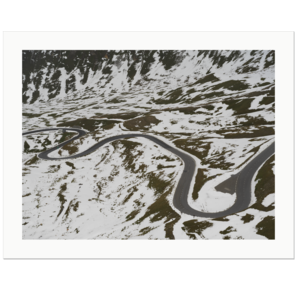 Mountain Road | Nationalpark Hohe Tauern, Österreich, 2017 | Edition Print 24   unlimitiert | Bildnummer: X1d_170905_003-24