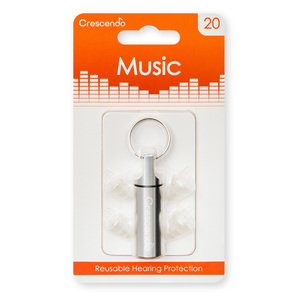 Crescendo Music Earplugs |  | Artikelnummer: PR-0214