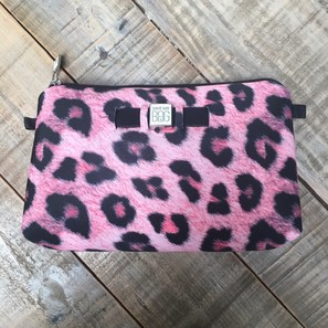 TRAVEL POUCH MEDIUM | LEO PINK | Artikelnummer: SAVE2e