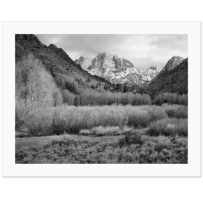 Carson Peak | June Lake Loop, California, 2016 | Edition Print 24   unlimitiert | Bildnummer: IQ180_160430_051 bw-24