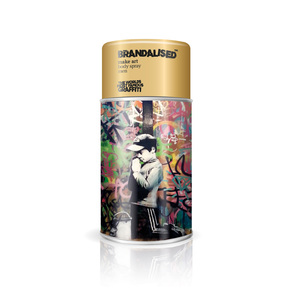 Banksy Graffiti Body Spray Men Limited Edition  | Body Spray Make Art 225 ml  | Artikelnummer: 009693