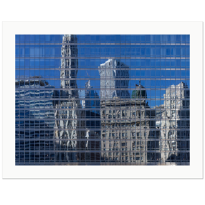 Blue Mirror | Chicago, Illinois, USA, 2012 | Edition Print 24   unlimitiert | Bildnummer: P65_120930_002-24