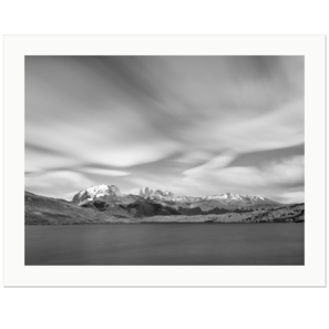 Laguna Azul and Torres del Paine | Patagonia, Chile, 2019 | Edition Print 24   unlimitiert | Bildnummer: X1d_190126_032bw-24
