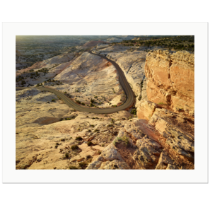 Winding Road In The Morning Light , Grand Staircase Escalante National Monument, Utah | Edition Print 24   unlimitiert | Bildnummer: P65_120427_008-24