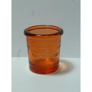 Glas Windlicht Bucket, 7cm, orange, Yankee Candle | Glas-Windlicht | Artikelnummer: LA4245D-SC320