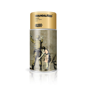 Banksy Graffiti Body Spray Men Limited Edition  | Body Spray Unarm 225ml | Artikelnummer: 009709