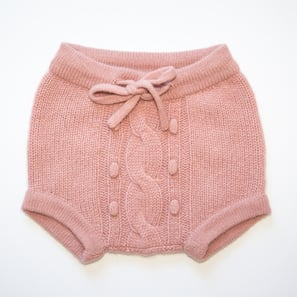 Baby Bloomer PEPPI | 100% Cashmere, Colour: Cameo Rose | Code: BP06018091XXX