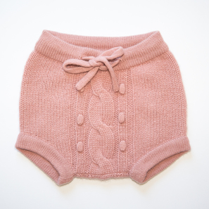 Baby Bloomer | 100% Cashmere, Colour: Cameo Rose | Code: 0718BP060136XXX
