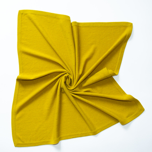 "Cashmere Baby Blanket ""Reva"" with Ajour Pattern 
