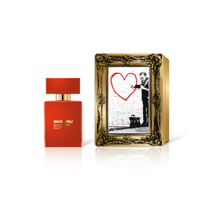 Banksy - Graffiti - Damen Parfum Limited Edition | Listen to your Heart  | Artikelnummer: 009648
