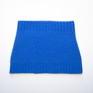 Basic Plain Loop Scarf | 100% Cashmere, Colour: Sapphire | Code: 0716AS050157XXX