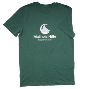Malinois in Not - T-Shirt Herren - dark green |  | Artikelnummer: MIN.03.HDG_S