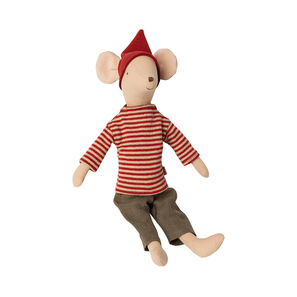 Maileg Stofftier | Christmas Mouse, Medium, Boy, Stoff, Herbst/Winter 2020 | Artikelnummer: 14-0721-00