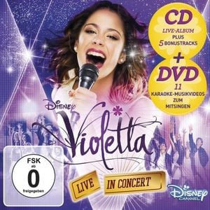Violetta (CD+DVD, Soundtrack) | Live in Concert (Deluxe, Staffel 2, Vol. 2) | Artikelnummer: 720