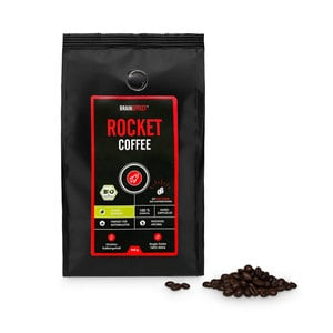 Rocket Coffee - der Bio Robusta von Braineffect | Single Estate, ganze Bohnen