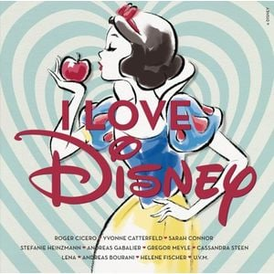 I love Disney | (Deluxe Edition) Doppel-CD | Artikelnummer: 381